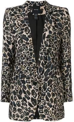 Smythe camouflage shawl blazer