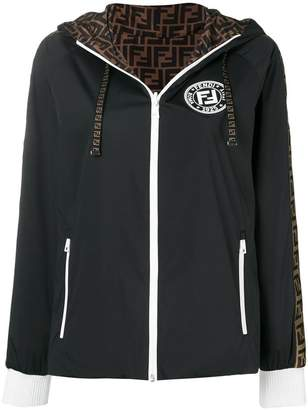 Fendi reversible hooded jacket