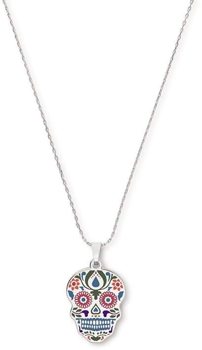 Calavera Color Infusion Necklace