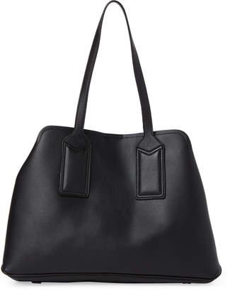 Urban Expressions Black Georgia Vegan Shoulder Bag