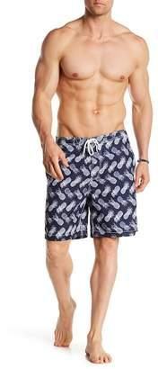 Trunks Swami Sketchy Pineapple Swim Trunk $54 thestylecure.com