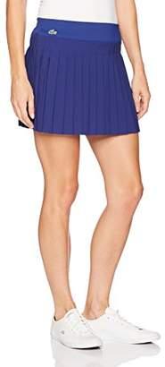 Lacoste Women's Light Technical Woven Pleated Skirt