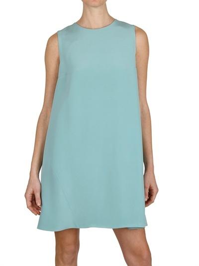 Gianluca Capannolo - Silk Crepe A-Line Dress
