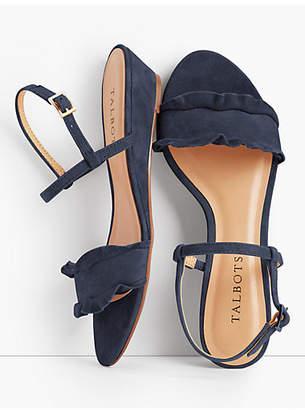 Talbots Capri Wedge Sandals