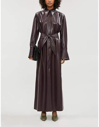 Nanushka Rosana faux-leather dress