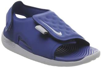 e0d502ed0af6 Nike Sunray Td Sandals Game Royal Wolf Grey