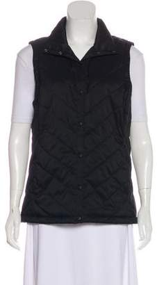 The North Face Quilted Snap-Front Vest