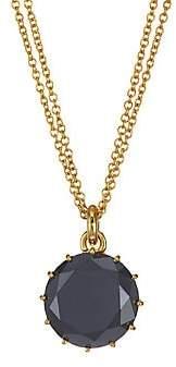 Black Diamond Renee Lewis Women's 18K Yellow Gold & Pendant Necklace