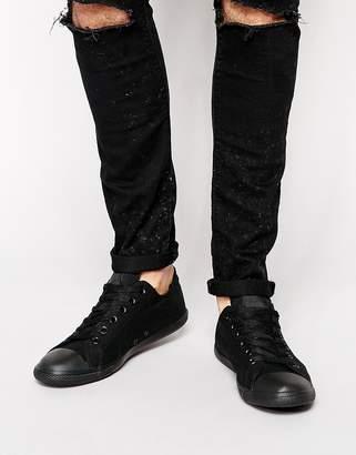 Converse Lean Sneakers In Black 142274C