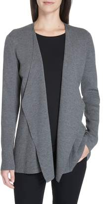 Eileen Fisher Angled Front Shaped Cardigan