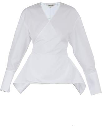 Diane von Furstenberg Cotton Top