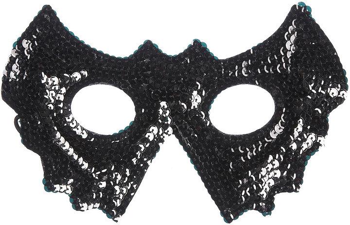 Sequin Bat Mask