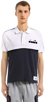 Lc23 Color Block Twill Polo Shirt