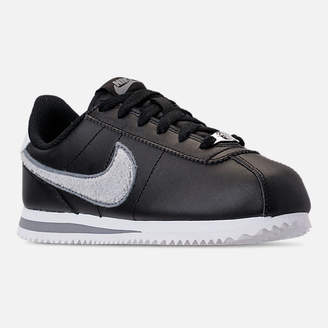 Nike Boys' Grade School Cortez Basic Leather SE Casual Shoes