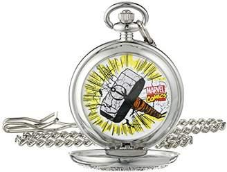 Marvel Men's The Avengers Thor W001748 Analog-Quartz Pocket Watch