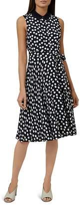 Hobbs London Belinda Polka Dot Shirt Dress