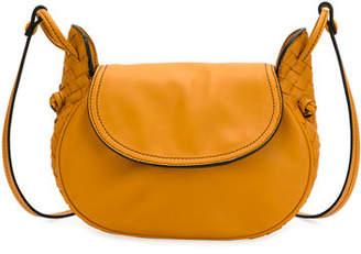 Bottega Veneta Nodini Flap Leather Shoulder Bag