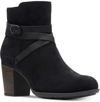 Clarks Women's Enfield Coco Booties Women's Shoes