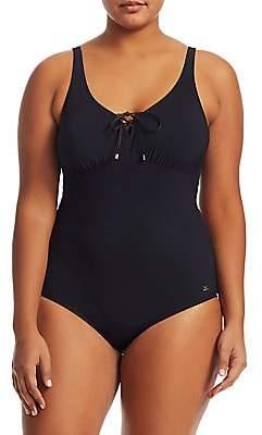 Marina Rinaldi Marina Rinaldi, Plus Size Marina Rinaldi, Plus Size Women's Bordeaux One-Piece Swimsuit