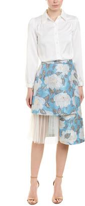 ZIYI Ziyi 2Pc Blouse & Skirt Set