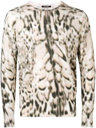Roberto Cavalli Lynx printed jumper