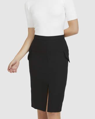 Pocket Pencil Skirt