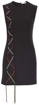 Versace Lace-Up Detail Dress