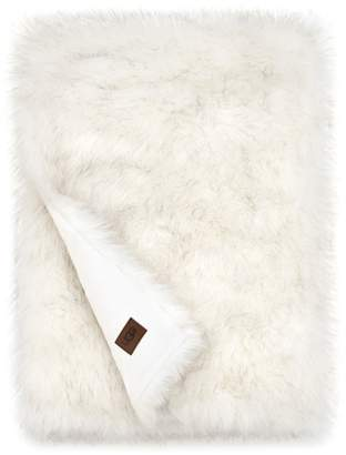 UGG Blizzard Faux Fur Throw Blanket
