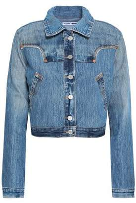 Levi's Re/Done By Cropped Denim Jacket