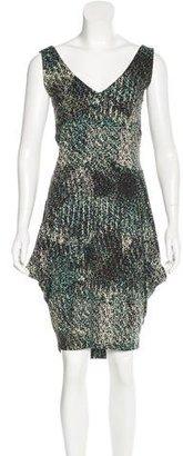 Twin.Set Pixel Print Midi Dress $70 thestylecure.com