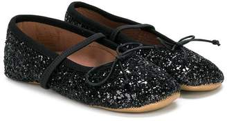 Pépé Kids glittery ballerinas