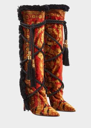 Versace Pillow Talk Wild Baroque Boots