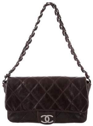 Chanel Modern Chain Caviar Flap Bag Brown Modern Chain Caviar Flap Bag