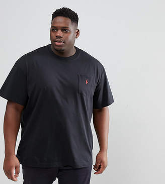 Polo Ralph Lauren Big & Tall T-Shirt Polo Player In Black