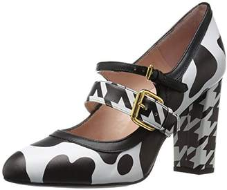 Moschino Women's Patent Leather Mary Jane Dress Pump