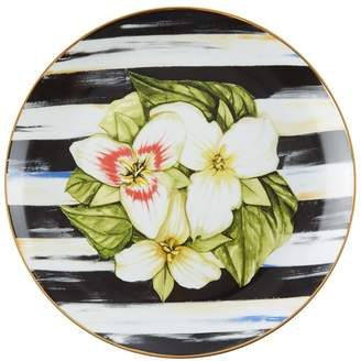 Mackenzie Childs Mackenzie-childs Thistle and Bee Trillium Salad Plate (21cm)