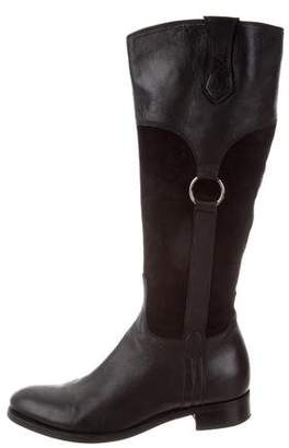 Attilio Giusti Leombruni Leather Knee-High Boots