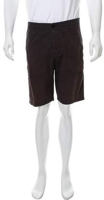 Theory Woven Flat Front Shorts