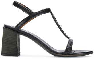 Marsèll black leather sandals