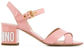 Moschino chunky heel sandals