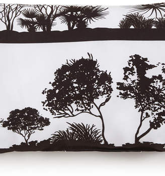 African Safari Long Rectangle Pillow - White Safari Bedding