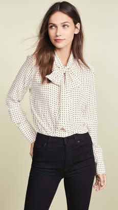 Equipment Nostalgia Dot Luis Blouse