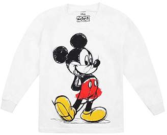 Disney Mickey Mouse Girls Coloured Long Sleeve Top