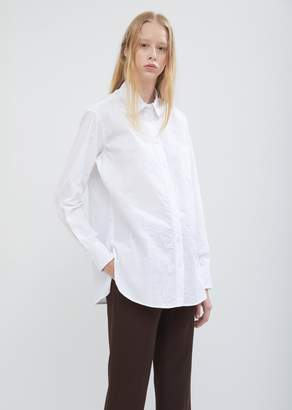 Sies Marjan Crinkled Poplin Sander Shirt