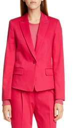 HUGO Aklesi Stretch Cotton Suit Jacket