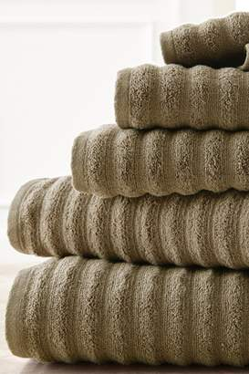 Amrapur Luxury Spa Collection Wavy Quick Dry 6-Piece Towel Set - Taupe