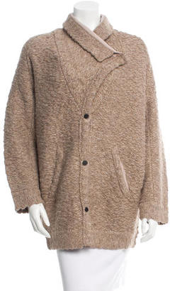 Inhabit Oversize Wool-Blend Cardigan w/ Tags $195 thestylecure.com