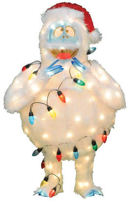Northlight Rudolph the Red-Nosed Reindeer Pre-Lit Faux Fur Bumble with Light Strand Christmas Yard Art Decoration