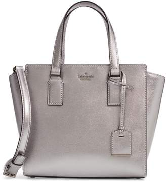 Kate Spade Cameron Street - Small Hayden Metallic Leather Satchel
