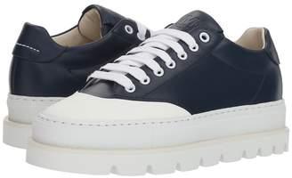 MM6 MAISON MARGIELA Cap Toe Platform Sneaker Women's Shoes